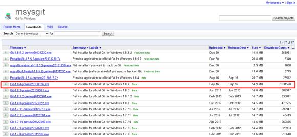 Downloads - msysgit - Git for Windows - Google Project Hosting 2014-02-06 13-03-30